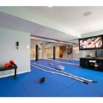 Boxing-Gym-with-in-ceiling-speakers-to-play-your-workout-playlist