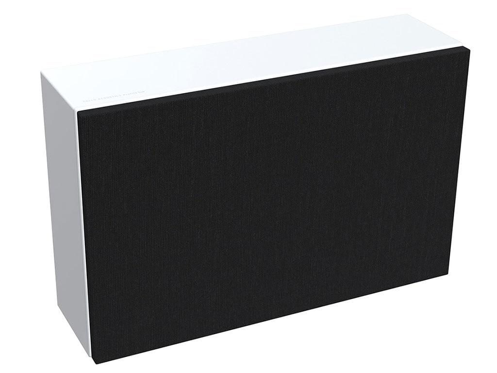 gallo-acoustics-profilesub-valkoinen-mustalla-maskilla