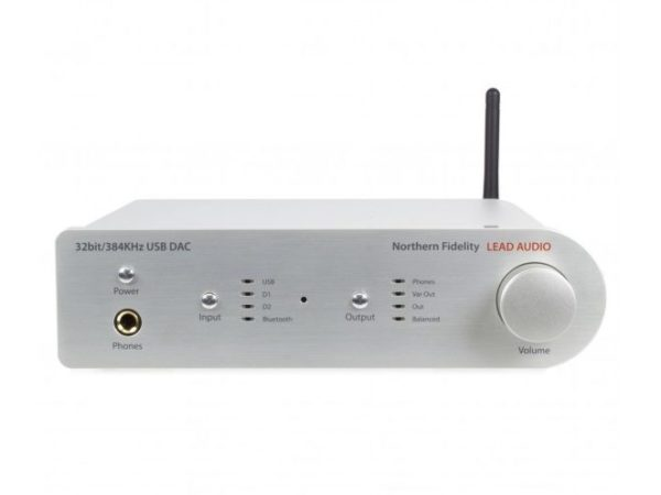 LEAD Audio NF-384 DAC-kuulokevahvistin | Ideaali.fi