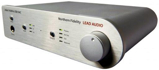 LEAD Audio NF-192 DAC-kuulokevahvistin | Ideaali.fi