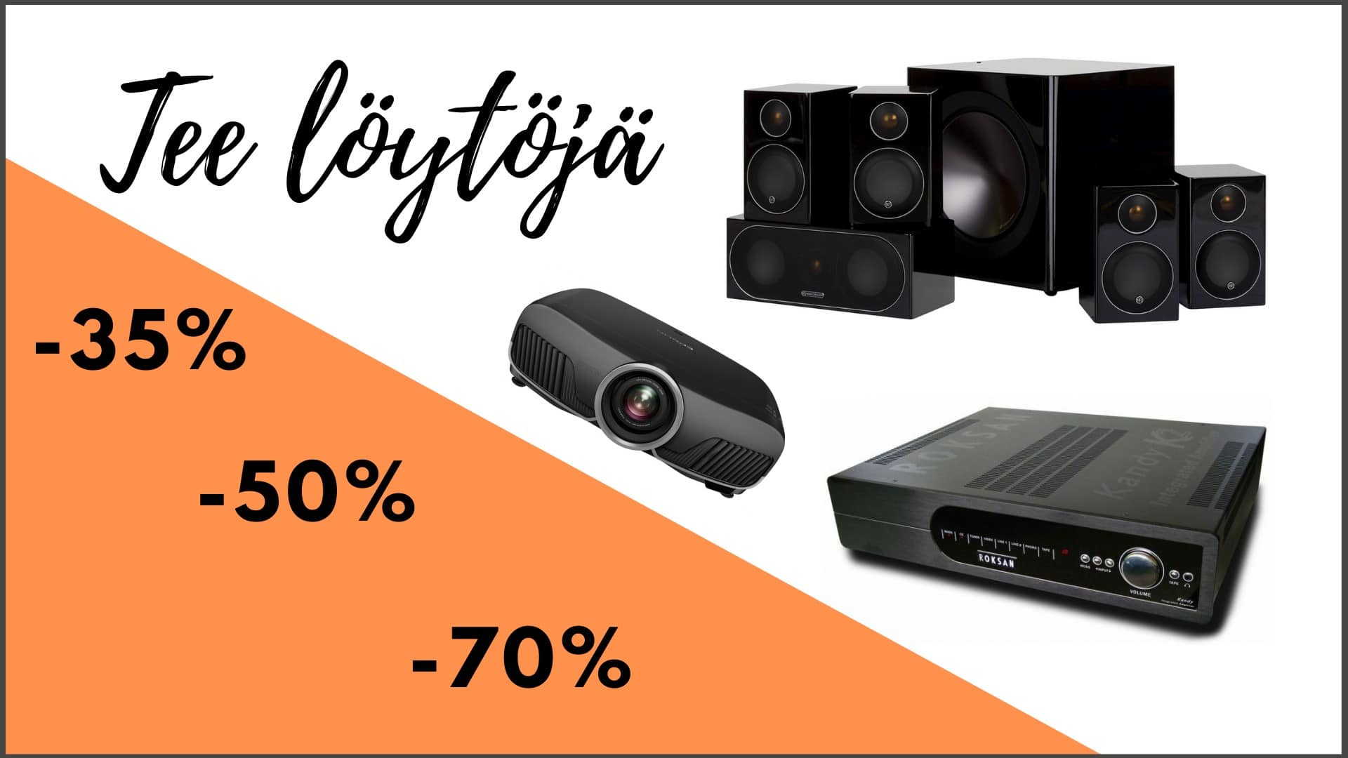 IDEAALI Tec - Hifi - Kotiteatteri - Akustiikka - ProAV | Ideaali.fi